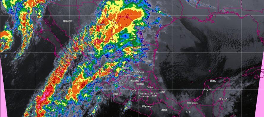 Pronostican tormentas fuertes para Veracruz, Oaxaca, Chiapas y Tabasco