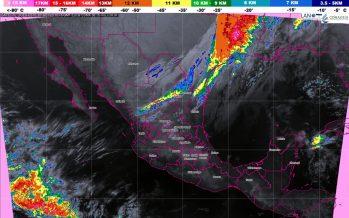 Pronostican tormentas muy fuertes para Oaxaca, Chiapas y Tabasco, en el trascurso del día