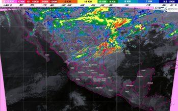 Pronostican lluvias con chubascos para Tamaulipas, Veracruz, Puebla, Oaxaca, Chiapas y Quintana Roo