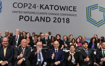Preocupación  mundial por nuevos informes de IPCC: concluye en Polonia la COP24, la Cumbre mundial del clima