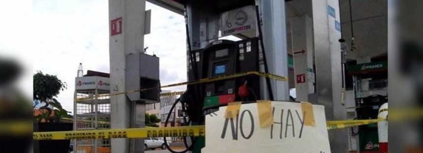 Consulta Mitofsky: desabasto de gasolina