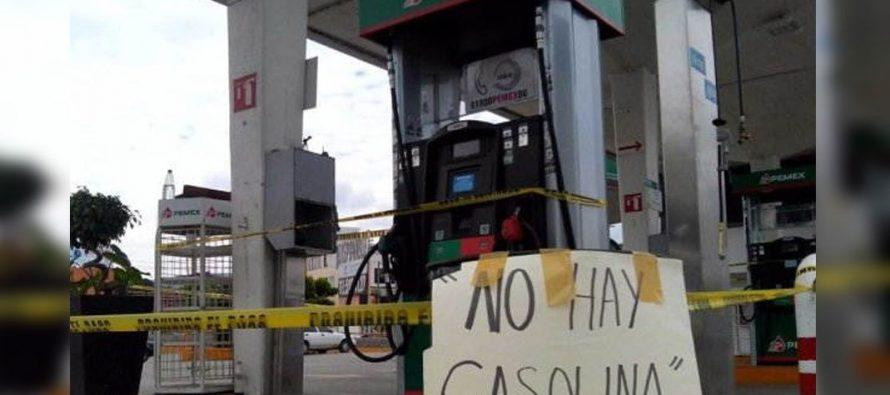 Desabasto de gasolina en Morelia paraliza casi la mitad de vehículos de servicio público de transporte