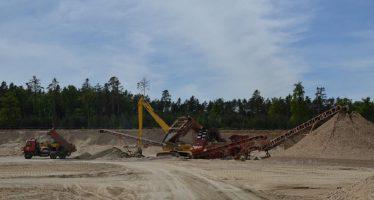 En busca de la extracción sostenible de arena