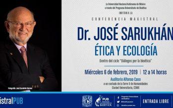 Conferencia magistral: Ética y ecología