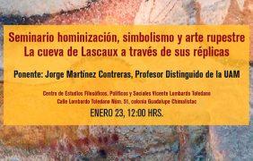 Seminario hominización, simbolismo y arte rupestre La cueva de Lascaux a traves de sus réplicas