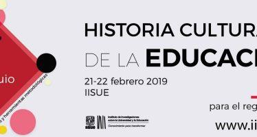 1er Coloquio de Historia Cultural de Educación