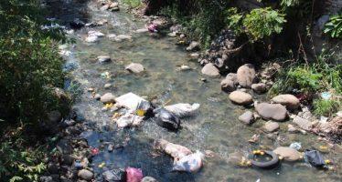 ECOSUR se suma a la limpieza del río Coatancito en Tapachula