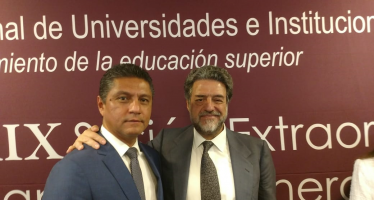 La educación superior es factor de desarrollo y cambio social que debe protegerse en beneficio de la sociedad: rector Cárdenas