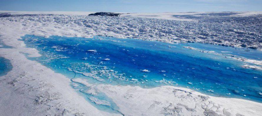 La superficie de miles de lagos se congela de forma intermitente en invierno debido al cambio climático
