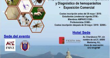 XI Congreso nacional de parasitología veterinaria AMPAVE 2019