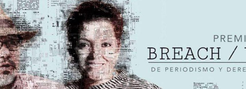 Segunda edición del Premio Breach / Valdez de periodismo y derechos humanos 2019