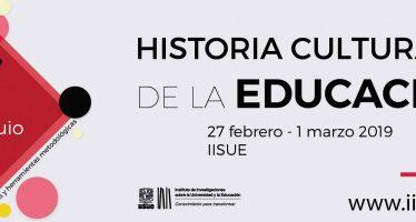 1er. Coloquio historia cultural de la educación