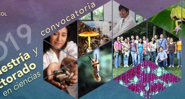Convocatoria maestría y doctorado en ciencias 2019