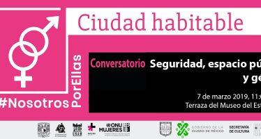 Conversatorio Seguridad, espacio público y género