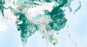 China e India vuelven más verde a la tierra