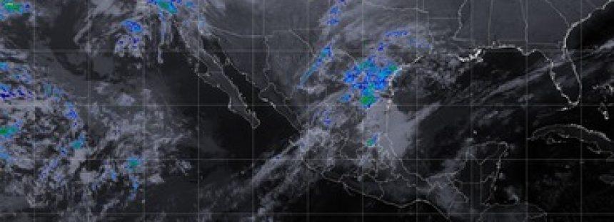 Se prevén tormentas fuertes en regiones de Oaxaca, Chiapas y Tabasco, debido al Frente Frío Número 40