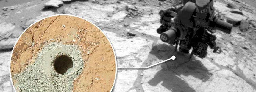 Curiosity encontró nitratos en Marte