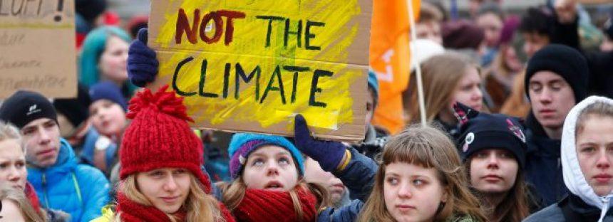 Fridays for Future: el tsunami ambientalista de los escolares