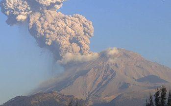 La alerta volcánica del Popocatépetl pasa de amarillo fase 2 a amarillo fase 3