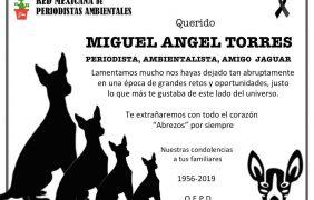 Miguel Ángel Torres, periodista ambiental