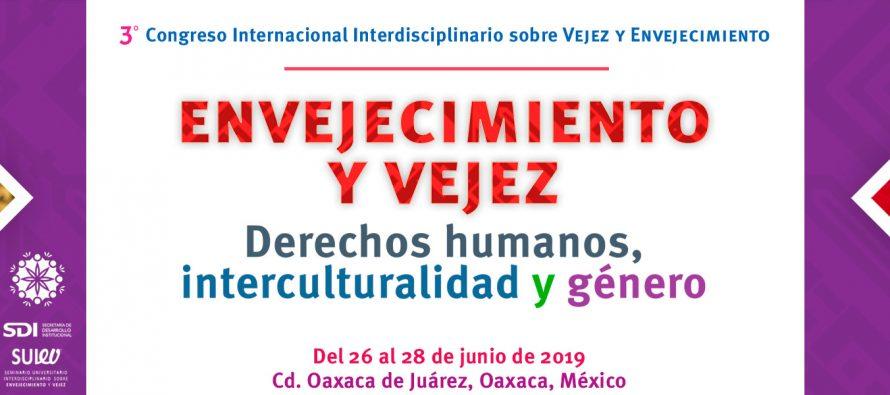 III Congreso Internacional Interdisciplinario sobre Vejez y Envejecimiento