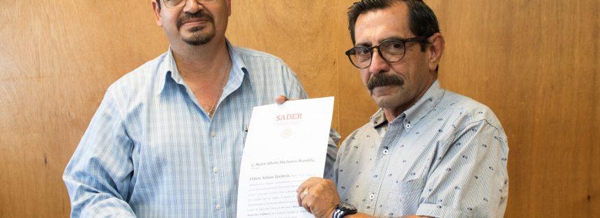 El almirante Héctor Mucharraz Brambila, es el nuevo director general de Inspección y Vigilancia de la Conapesca