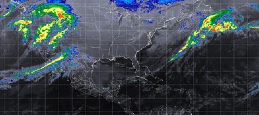 Se prevén tormentas intensas en Veracruz y muy fuertes en Oaxaca y Chiapas