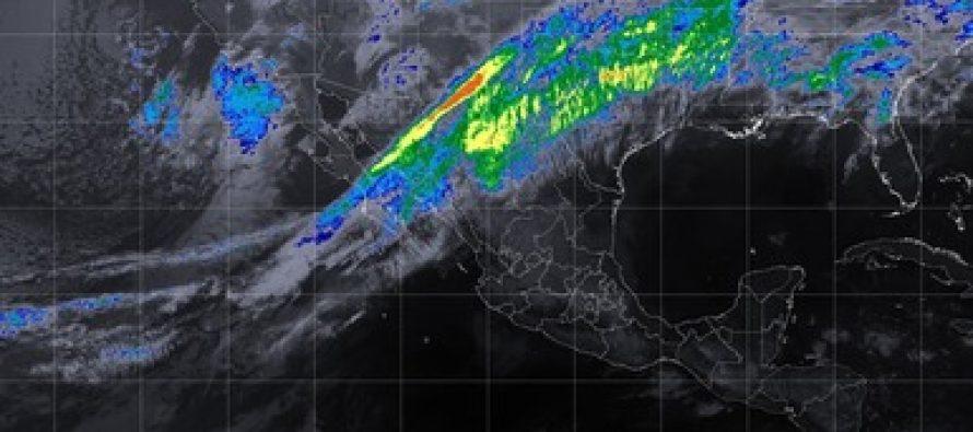 Se pronostican tormentas fuertes en Baja California, Sonora, Chihuahua y Coahuila