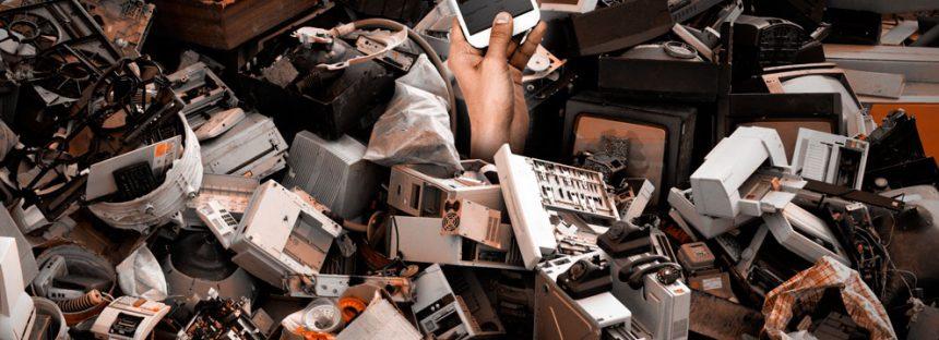México, es el tercer productor de basura electrónica en toda América: 1 millón de toneladas al año