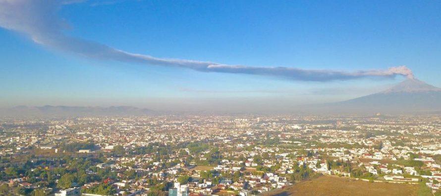 Preparan simulacro de evacuación por actividad del Popocatépetl