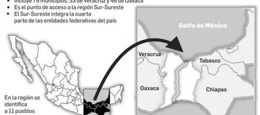 """Se creará """"zona libre"""" a lo largo del Transístmico"""