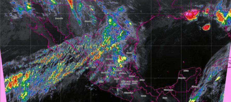 Lluvias, vientos y posibles torbellinos se prevén hoy en Coahuila, Nuevo León y Tamaulipas