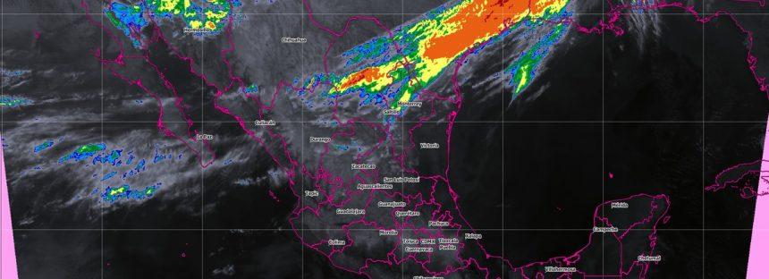 Frío, vientos fuertes y posibles nevadas y tolvaneras, se prevén hoy en el noroeste y el norte de México