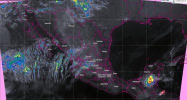 Se pronostican tormentas fuertes con actividad eléctrica para Chiapas, Campeche y Quintana Roo