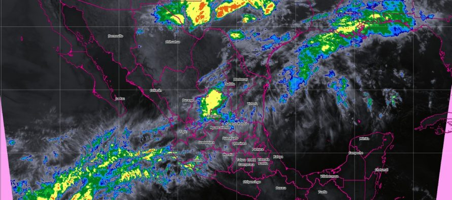 Tormentas fuertes con granizo se pronostican para Chihuahua y Coahuila
