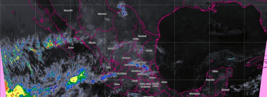 La onda de calor prevalecerá sobre el occidente de México