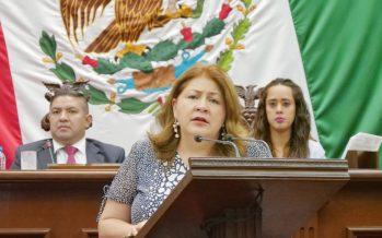 Cristina Portillo propone crear la Unidad de Género en el Congreso de Michoacán para desterrar la desigualdad