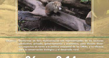 """Foro """"Evaluación de las Unidades de Manejo para la Conservación de Vida Silvestre (UMA) como política de conservación nacional"""