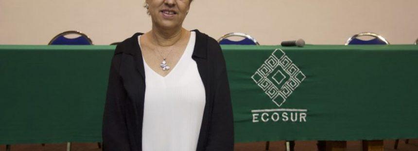 La Dra. Carmen Pozo, queda al frente de ECOSUR