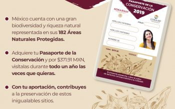 Adquiere tu Pasaporte de la Conservación