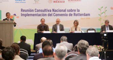 Gobierno de México fortalecerá el manejo de las sustancias químicas peligrosas