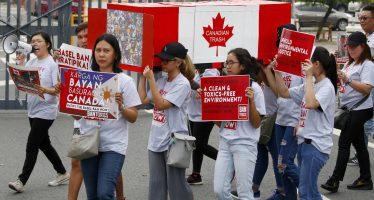"""Filipinas gana la """"guerra de la basura"""" a Canadá"""