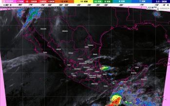 Tormentas muy fuertes con actividad eléctrica, se prevén en Veracruz, Tabasco, Oaxaca, Chiapas y Yucatán