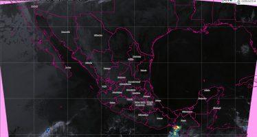Se prevén tormentas muy fuertes en Chiapas y fuertes en Oaxaca