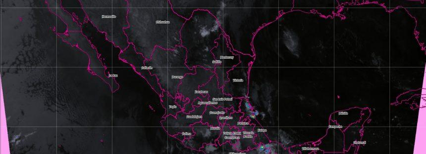 Pronostican tormentas fuertes para Puebla, Veracruz, Oaxaca y Chiapas