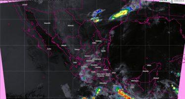 A partir de hoy se originará el primer temporal de lluvias en México con tormentas de intensas a puntuales torrenciales en Oaxaca y Chiapas