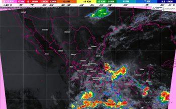 Se pronostican tormentas torrenciales con actividad eléctrica y posible granizo para Oaxaca y Chiapas