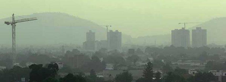 Cientos de incendios forestales contribuyen a los altos niveles de contaminación
