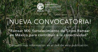 Ramsar MX: fortalecimiento de sitios Ramsar en México para contribuir a la conectividad