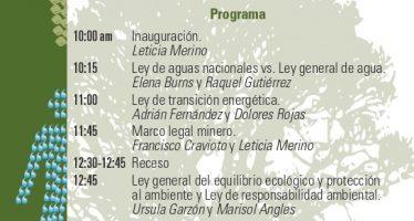 Conversatorio: ¿Funcionan las leyes mexicanas para proteger el medio ambiente y el bien común?